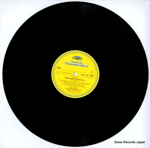 BARENBOIM, DANIEL hugo wolf; italienisches liederbuch 2707114 - disc