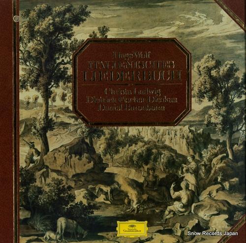 BARENBOIM, DANIEL hugo wolf; italienisches liederbuch 2707114 - front cover
