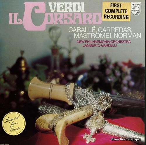 GARDELLI, LAMBERTO verdi; il corsaro 6700098 / 9500050-1 - front cover