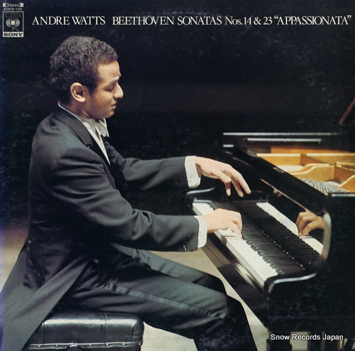WATTS, ANDRE beethoven; sonatas nos.14&23