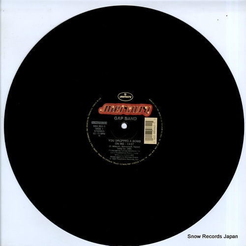 GAP BAND, THE you dropped a bomb on me 884662-1 - disc