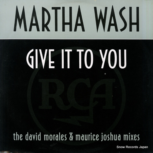 WASH, MARTHA give it to you 7432113656-1 - front cover