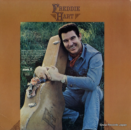 HART, FREDDIE from canada to tennessee JS-6117 - front cover
