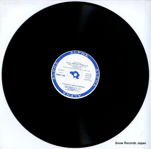 V/A paque; deuxieme quatuor a cordes op.30 DBM-F265 - disc