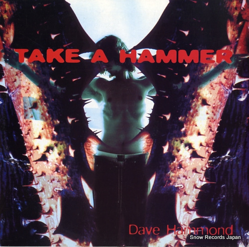 DAVE HAMMOND take a hammer TRD1471 - front cover