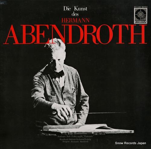 ABENDROTH, HERMANN beethoven; sinfonie nr.6