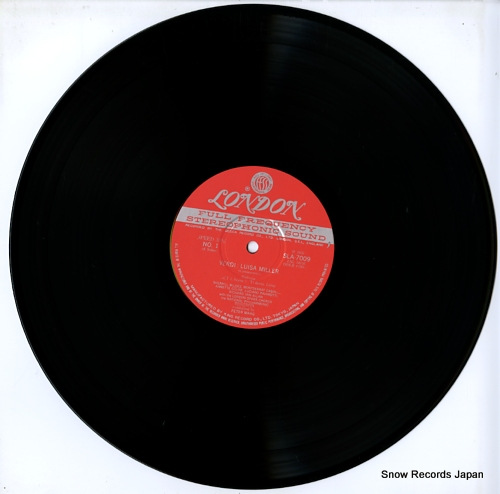 MAAG, PETER verdi; luisa miller SLA7009/11 - disc