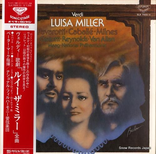 MAAG, PETER verdi; luisa miller SLA7009/11 - front cover