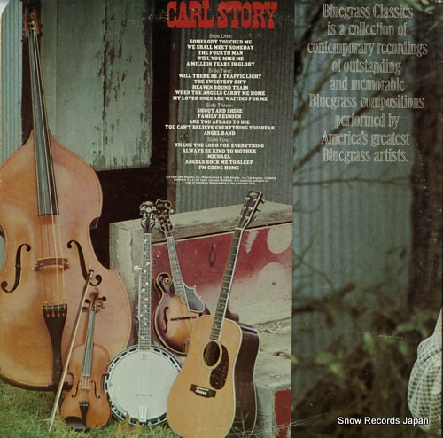 STORY, CARL the bluegrass gospel collection CMH-9005 - back cover