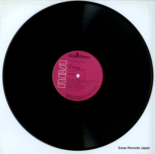 PREVITALI, FERNANDO verdi; la traviata RGC-1078-80 - disc