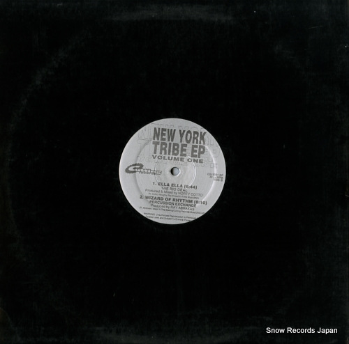 V/A new york tribe ep (volume one) CR-1031EP - back cover