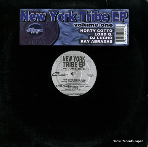 V/A new york tribe ep (volume one) CR-1031EP - front cover