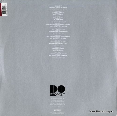 SUPERSONIC running again DROP0330-6 - back cover