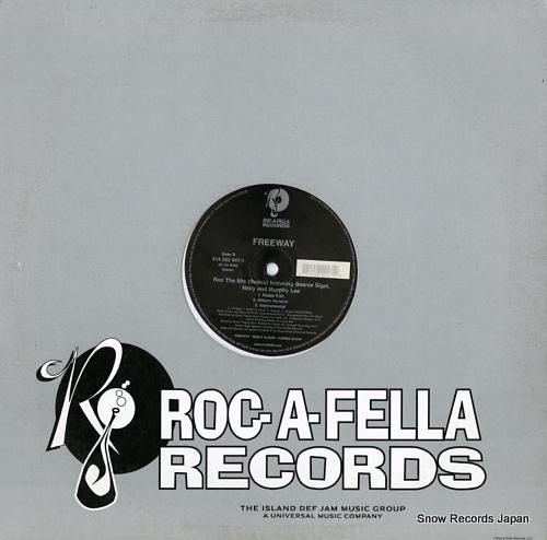FREEWAY line 'em up / roc the mic (remix) 314582947-1 - back cover