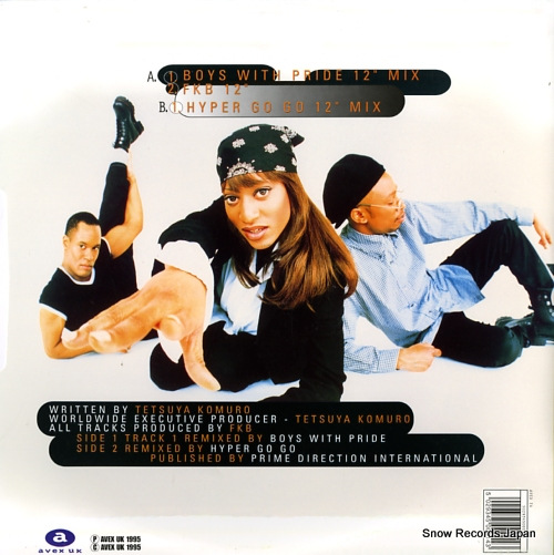 EUROGROOVE move your body AVEXT4 - back cover