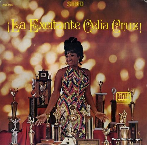 CRUZ, CELIA la excitante celia cruz! SLP-1186 - front cover