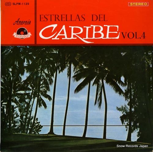 V/A estrellas del caribe vol.4 SLPM-1129 - front cover