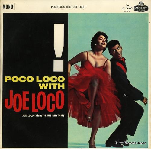 LOCO, JOE poco loco with joe loco LY3006 - front cover