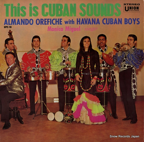 HAVANA CUBAN BOYS this is cuban sounds UPS10 - front cover