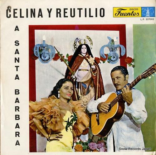 CELINA Y REUTILIO a santa barbara LP-337002 - front cover