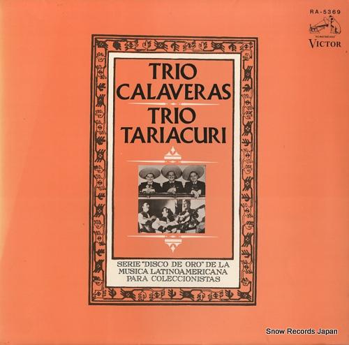 TRIO CALAVERAS / TRIO TARIACURI trio calaveras / trio tariacuri RA-5369 - front cover