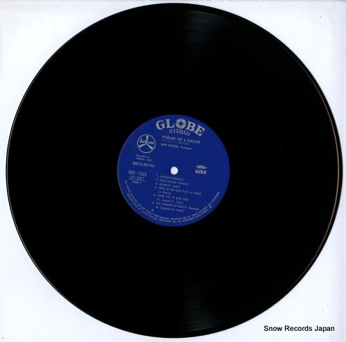 ROSSO, NINI poemes de l'amour SWX-7050 - disc