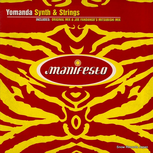 YOMANDA synth & strings FESX59 / 562230-1 - front cover