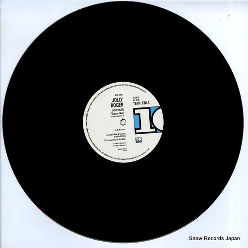ROGER, JOLLY acid man (techno mix) TENR236 - disc