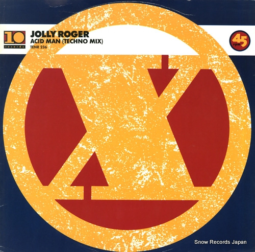 ROGER, JOLLY acid man (techno mix) TENR236 - front cover