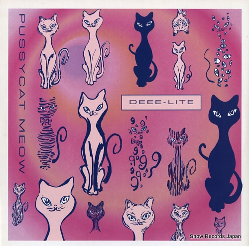 DEEE-LITE pussycat meow 0-66331 - front cover