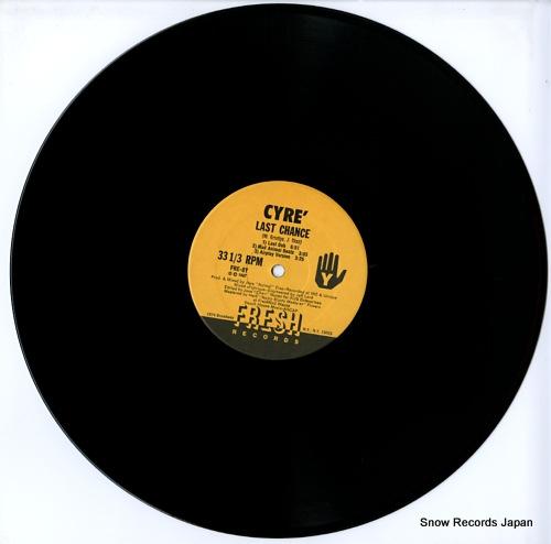CYRE last chance FRE-8Y - disc