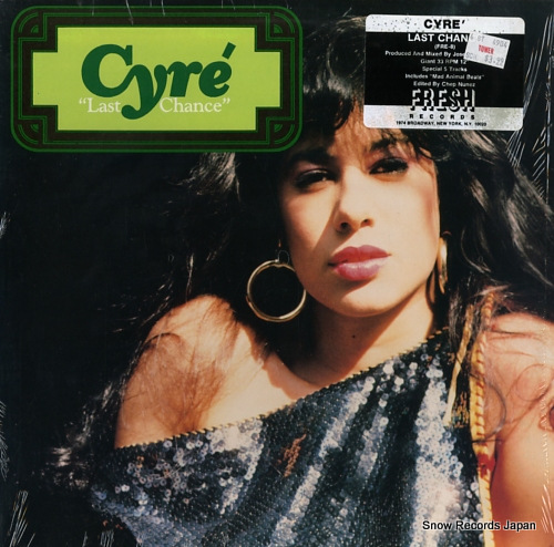 CYRE last chance FRE-8Y - front cover