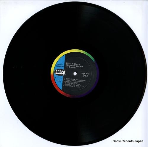 GRANDA, BIENVENIDO cuba y brazill SCLP9143 - disc