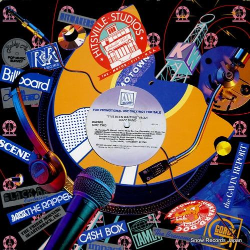 DAZZ BAND hot spot (club mix) 4543MG - back cover
