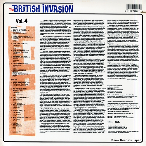 V/A the british invasion / the history of british rock vol.4 R170322 - back cover