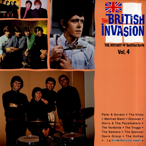 V/A the british invasion / the history of british rock vol.4 R170322 - front cover
