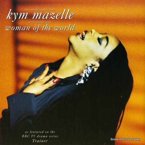 MAZELLE, KYM woman of the world 12EM209 - front cover