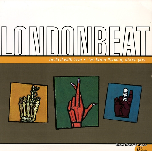 LONDONBEAT build it with love RAR12-55052 - front cover