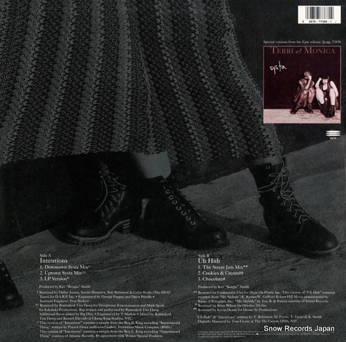TERRI AND MONICA intentions 4977388 - back cover