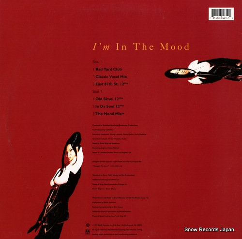 PENISTON, CECE i'm in the mood 3145804611 - back cover