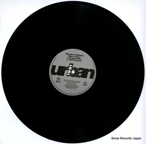 SHADES OF BLACK make u mine URBX76 - disc