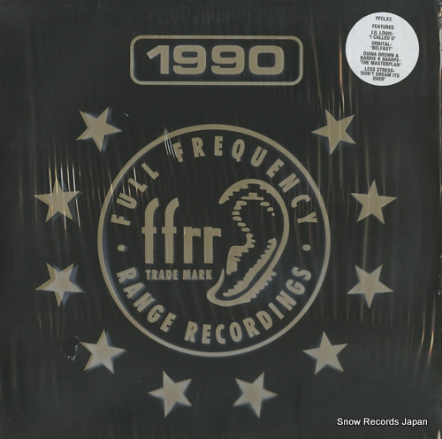 V/A ffrr classics volume 3 FFCLX3 - front cover
