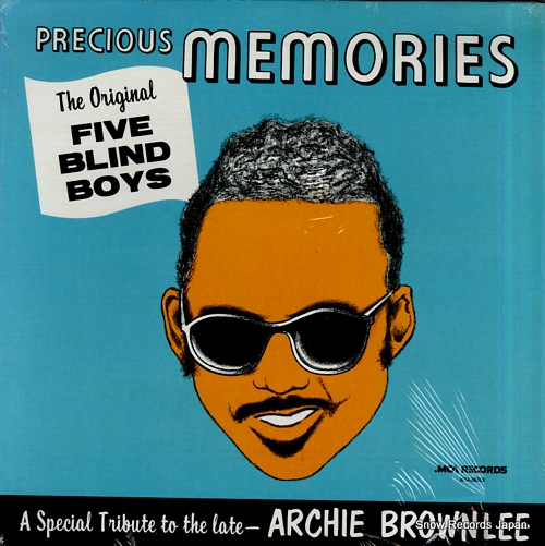 FIVE BLIND BOYS, THE precious memories MCA-28002 - front cover