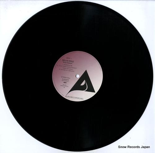 YELLOW MAGIC ORCHESTRA public pressure ALR-6033 - disc
