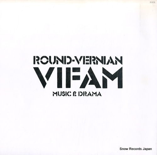 ROUND-VERNIAN VIFAM music & drama K-5505-6 - front cover