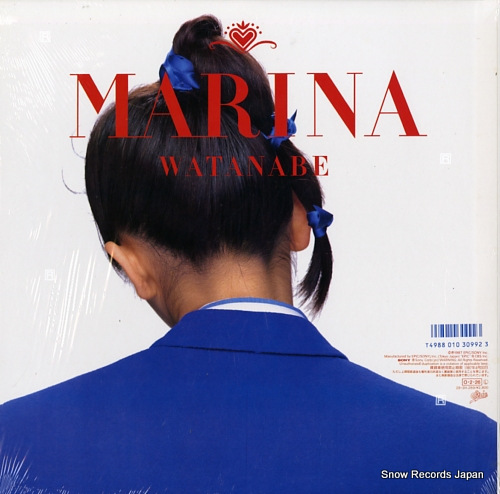 WATANABE, MARINA marina 28.3H-269 - back cover