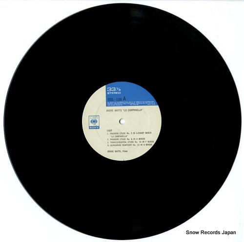 WATTS, ANDRE la campanella SOCL1100 - disc