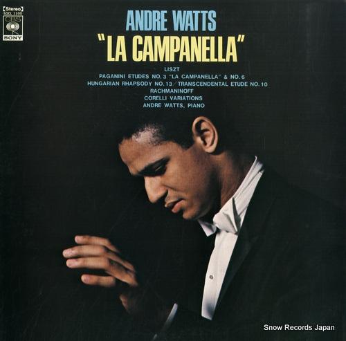 WATTS, ANDRE la campanella SOCL1100 - front cover