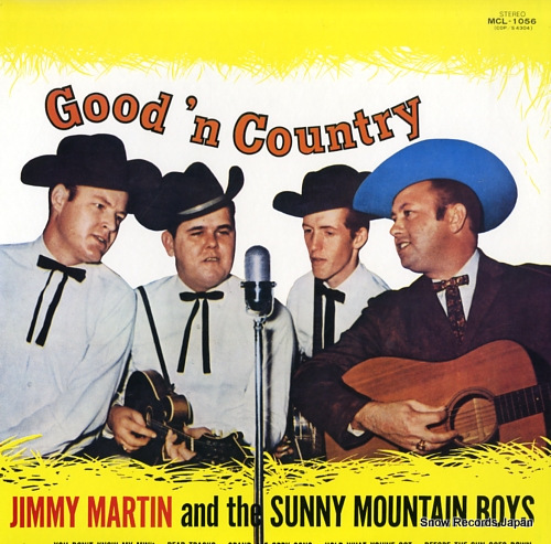 MARTIN, JIMMY good'n country MCL-1056 - front cover