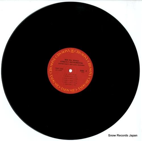 FLATT, LESTER, AND EARL SCRUGGS strictly instrumental 20AP1650 - disc